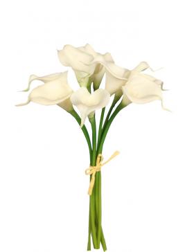 Arreglo de flores artificiales