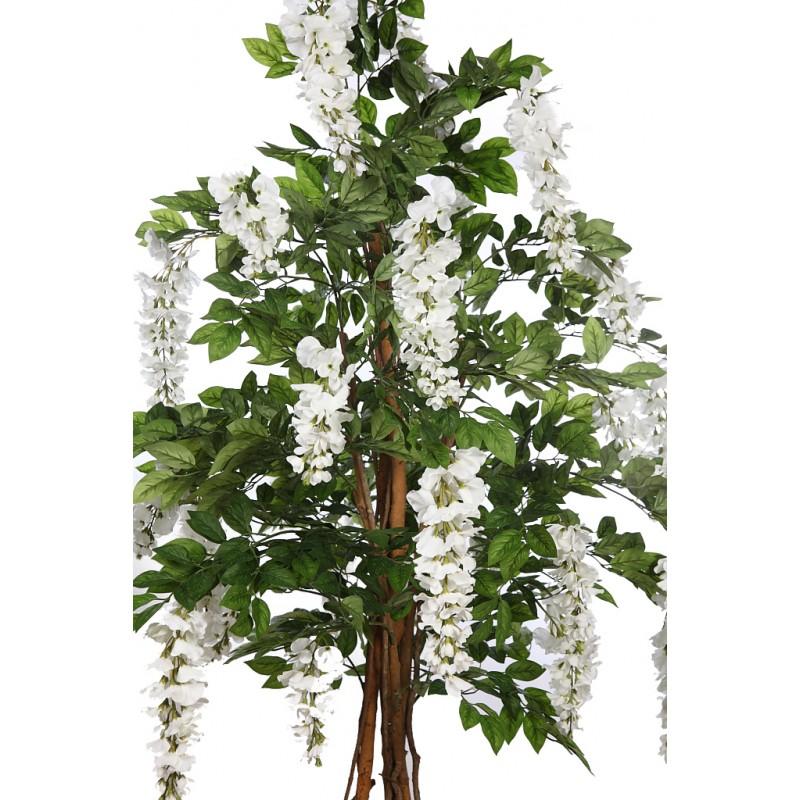 arbol wisteria artificial en maceta 210cm