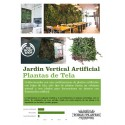 JARDIN VERTICAL ARTIFICIAL 100X100CM