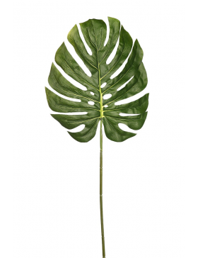 HOJA DE MONSTERA ARTIFICIAL 80 CM