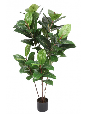 FICUS ROBUSTA ARTIFICIAL 120CM MACETA INCLUIDA