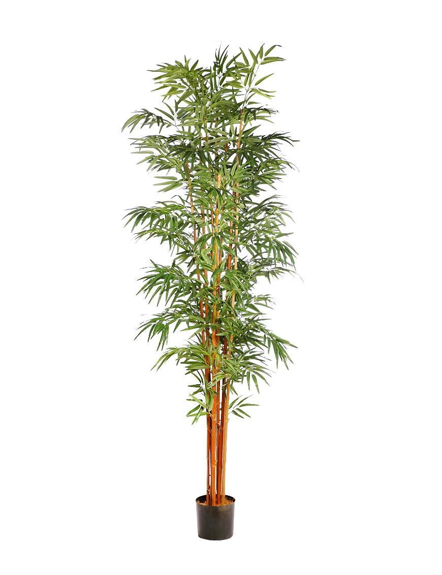 Arbol de bambu artificial 244cm for Arbol artificial decoracion