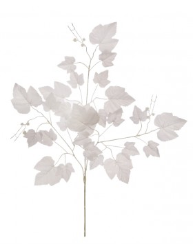 HOJA ARCE BLANCO ARTIFICIAL 67CM