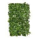 celosía seto plantas artificiales