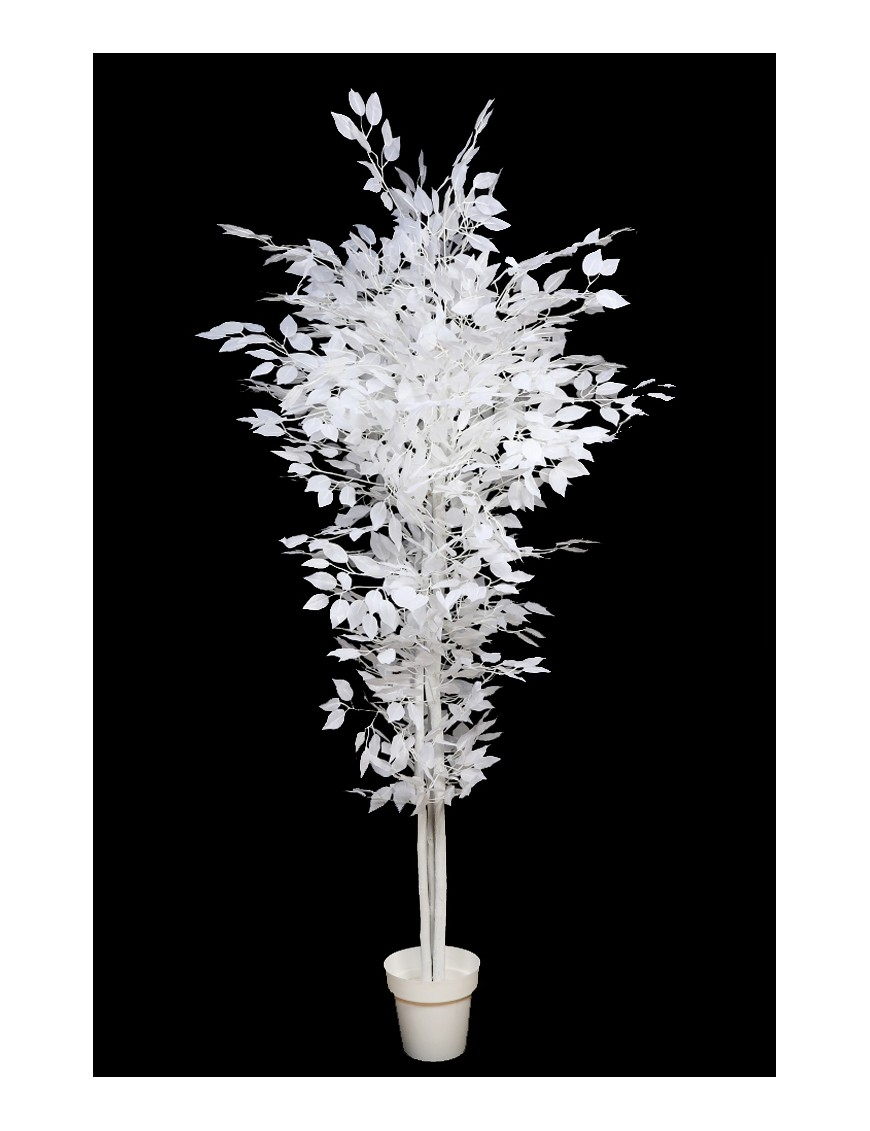 Árbol artificial blanco
