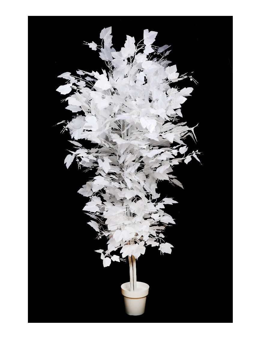 arbol blanco artificial