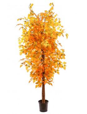 árbol artificial otoñal