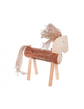 CABALLO DECORATIVO TRONCO 40CM