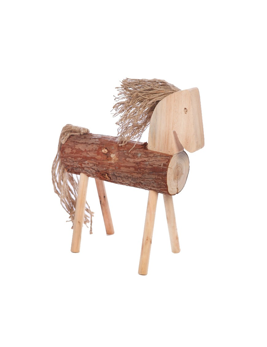 CABALLO DECORATIVO TRONCO 50CM