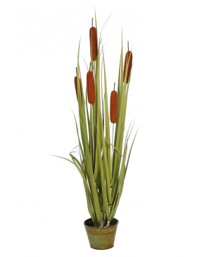 PLANTA TYPHA PURITO ARTIFICIAL 100CM