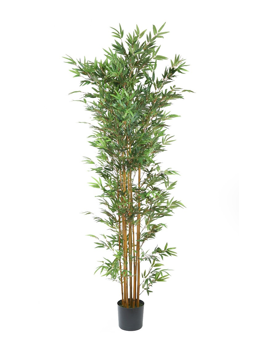BAMBU ARTIFICIAL EN MACETA 210CM