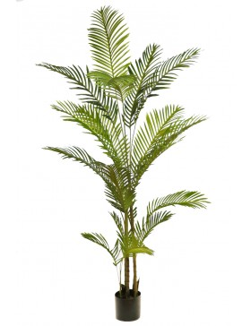 ARECA ARTIFICIAL CON MACETA 190CM