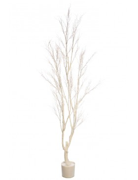 ARBOL BLANCO ARTIFICIAL 190CM