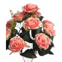 BOUQUET DE ROSAS ARTIFICIALES 50CM