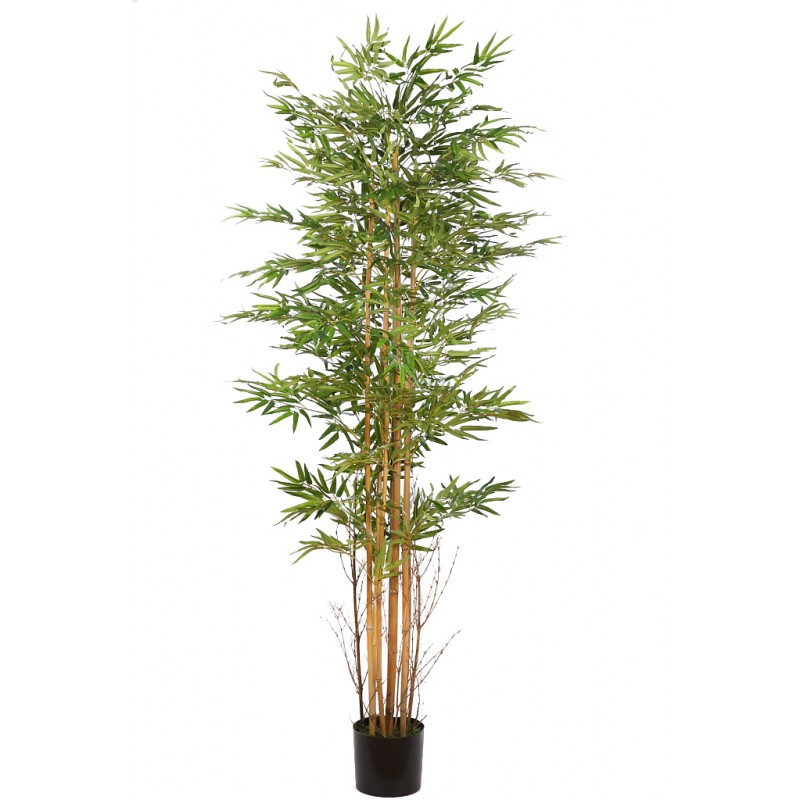 Arbol bambu artificial en maceta 190cm - Bambu artificial ...