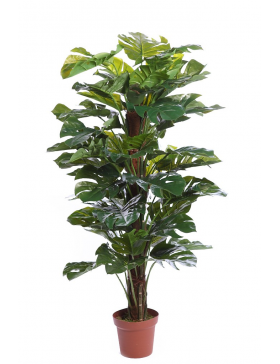 PLANTA MONSTERA ARTIFICIAL EN MACETA 150CM