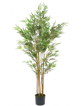 BAMBU ARTIFICIAL EN MACETA 150CM