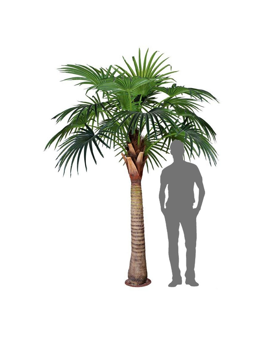 Palmera artificial 280cm ancho 180cm for Palmeras de exterior