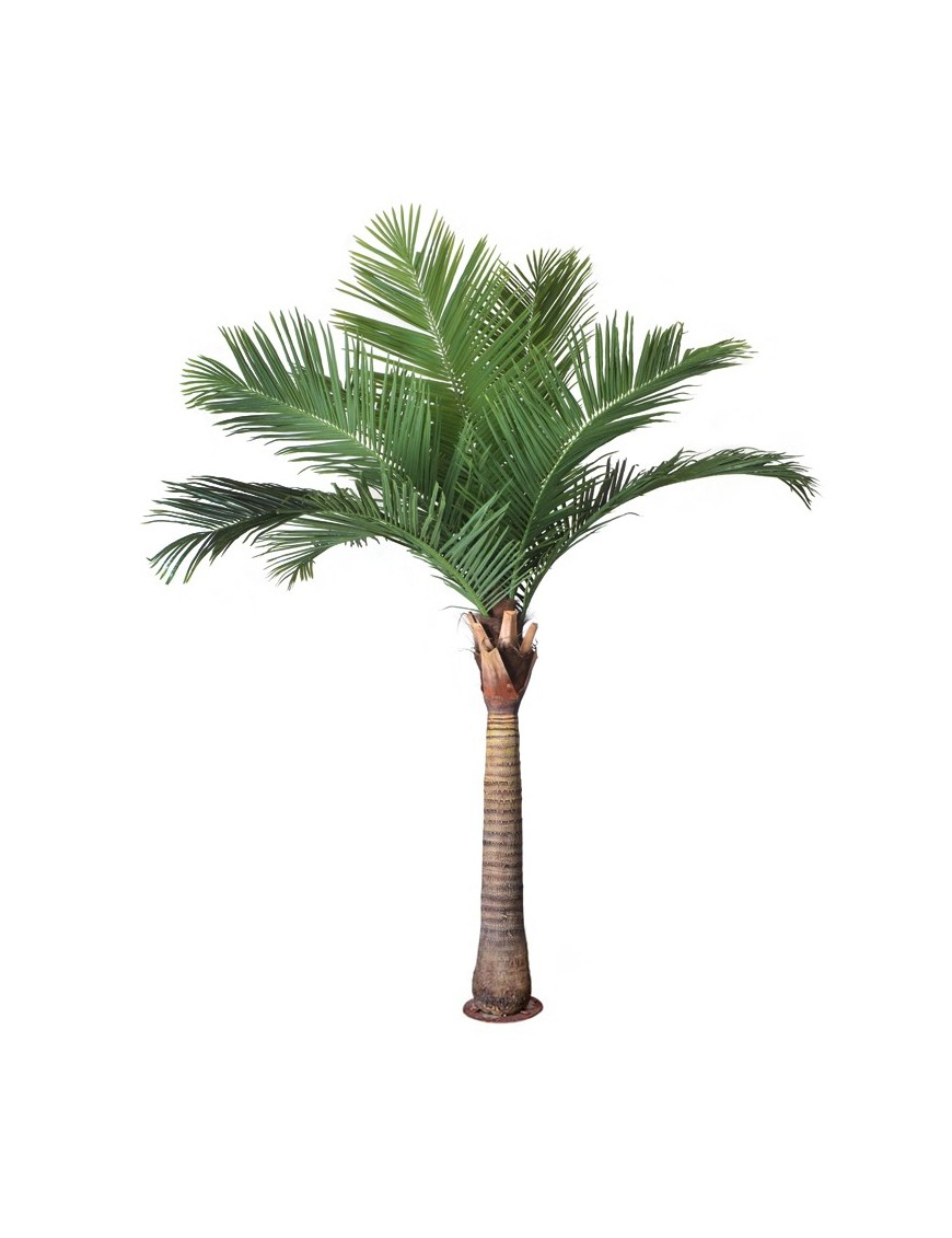 PALMERA COCOTERO ARTIFICIAL 280CM BASE METAL