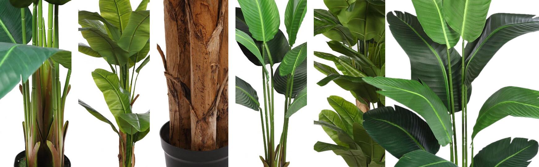 árboles plataneros-bananeros artificiales al mejor precio
