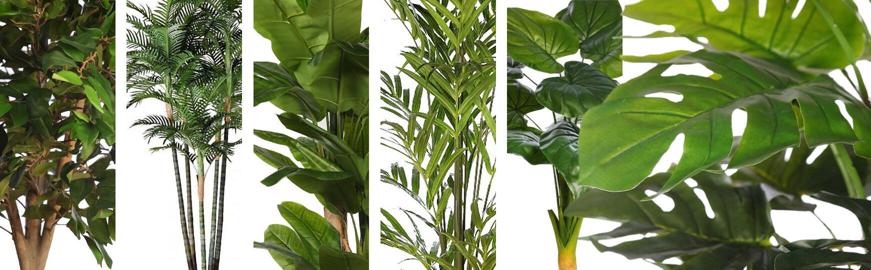 árboles artificiales tropicales al mejor precio