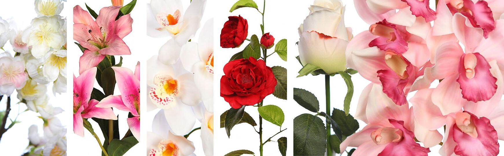 Flores artificiales para bodas al mejor precio