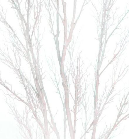 Árboles artificiales blancos