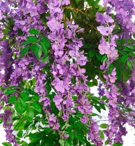 Árboles artificiales florados baratos