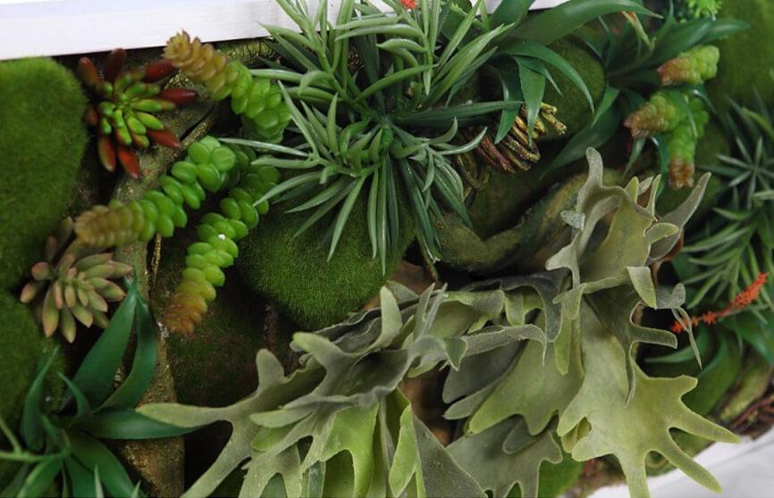 Plantas artificiales para decoración