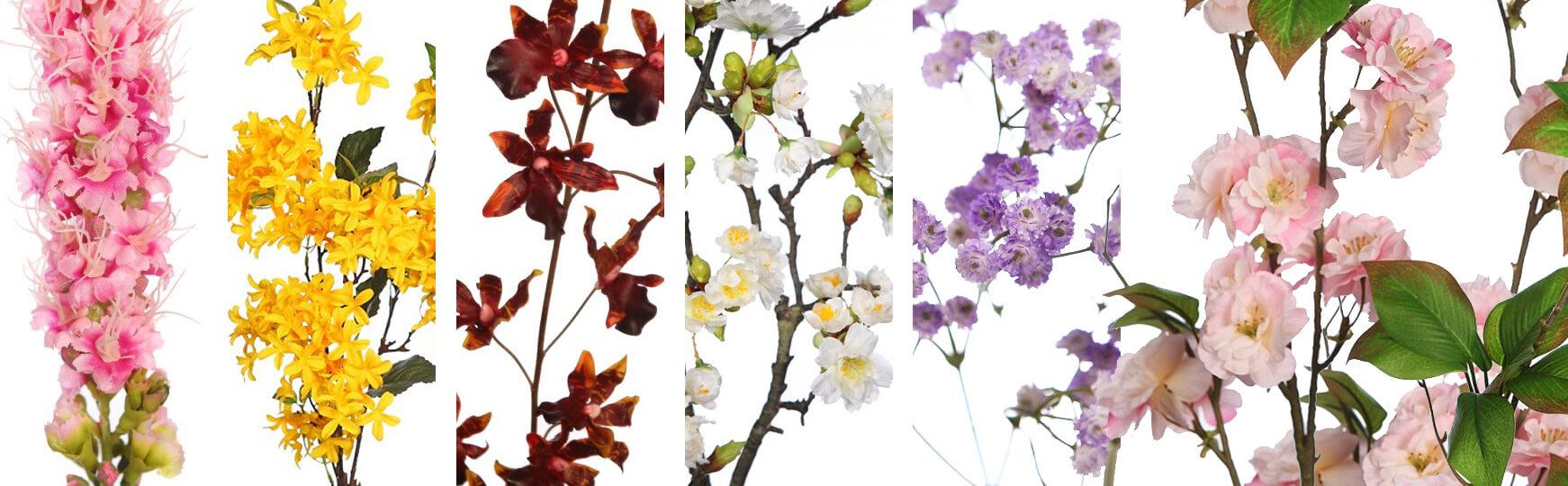 flores artificiales pequeñas al mejor precio
