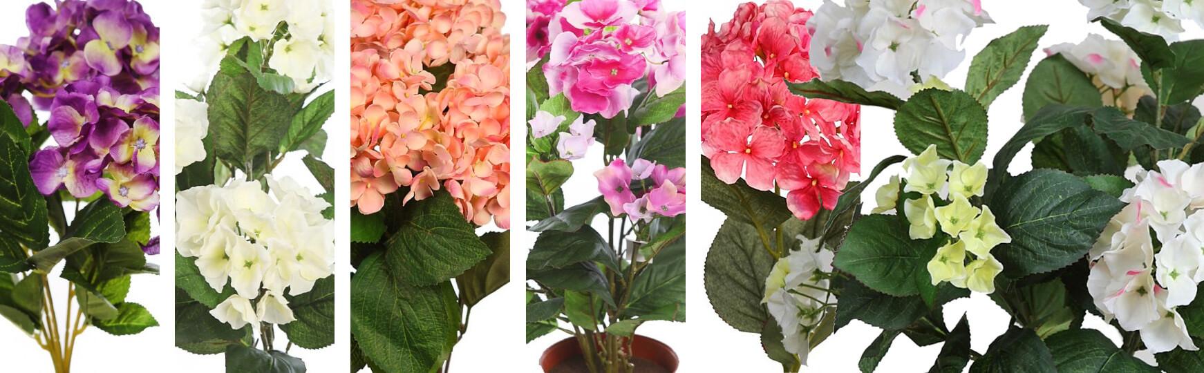 hortensias artificiales al mejor precio