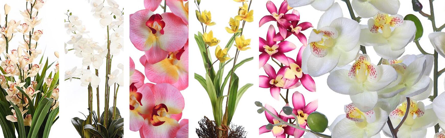 Orquídeas artificiales baratas