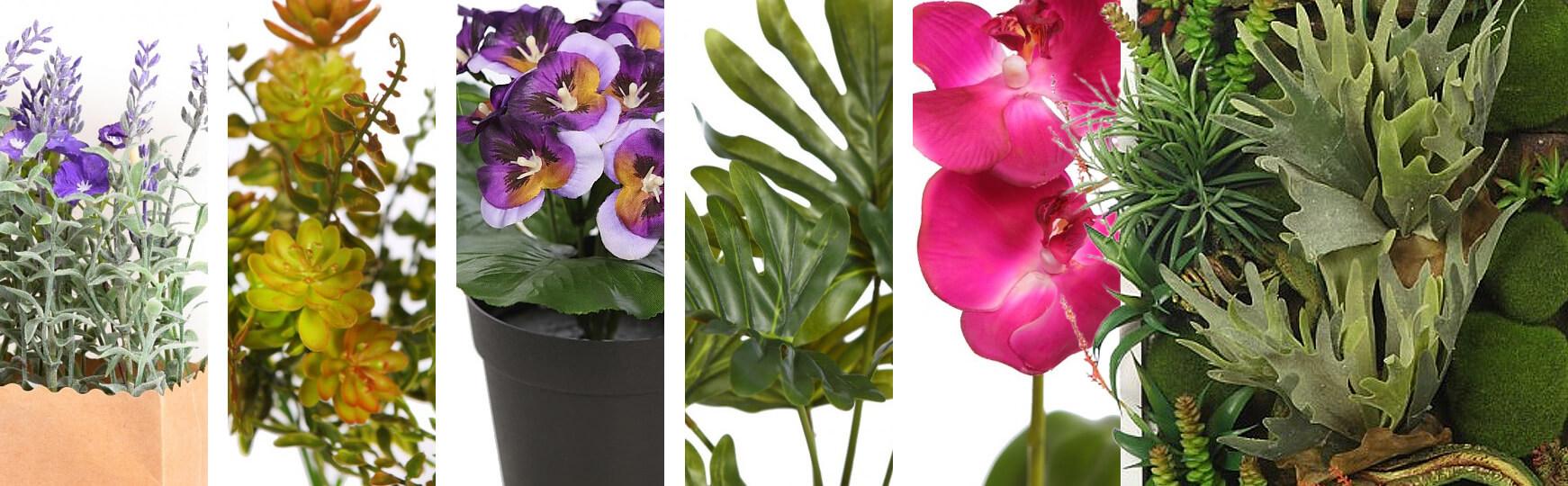 plantas artificiales para baño baratas