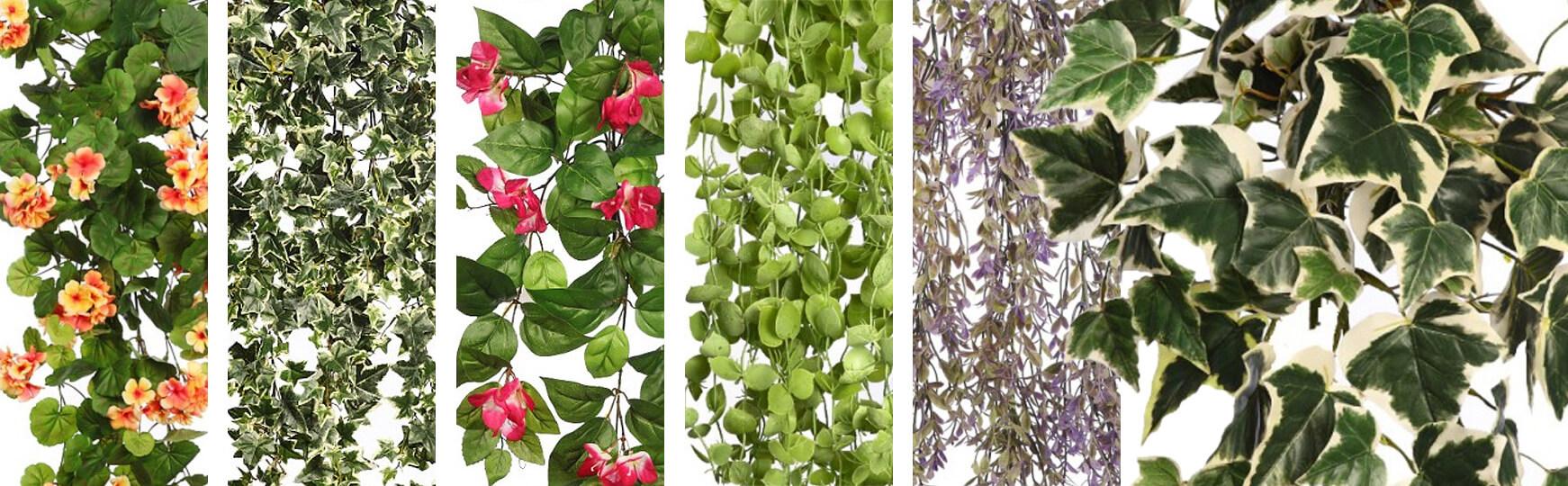 plantas artificiales colgantes baratas