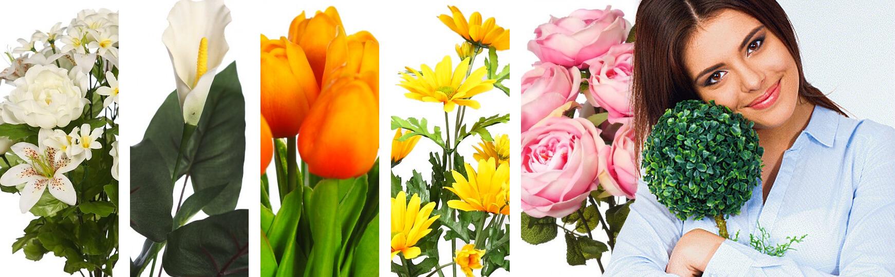 plantas y flores artificiales para el día de la madre al mejor precio