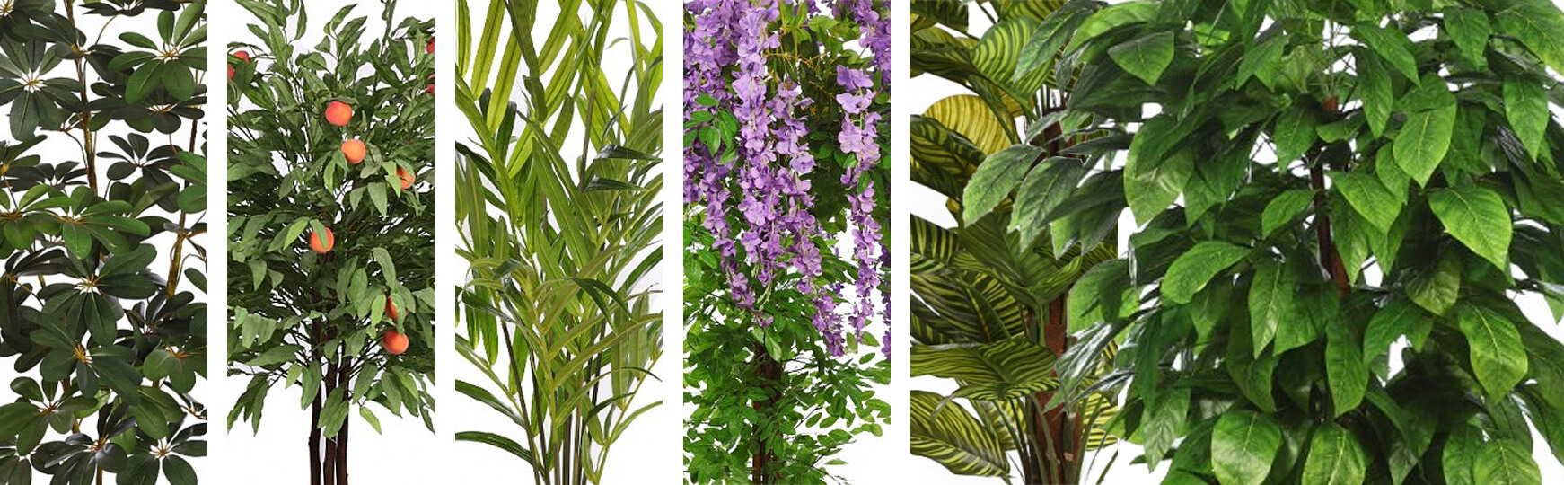 plantas artificiales grandes para decoración