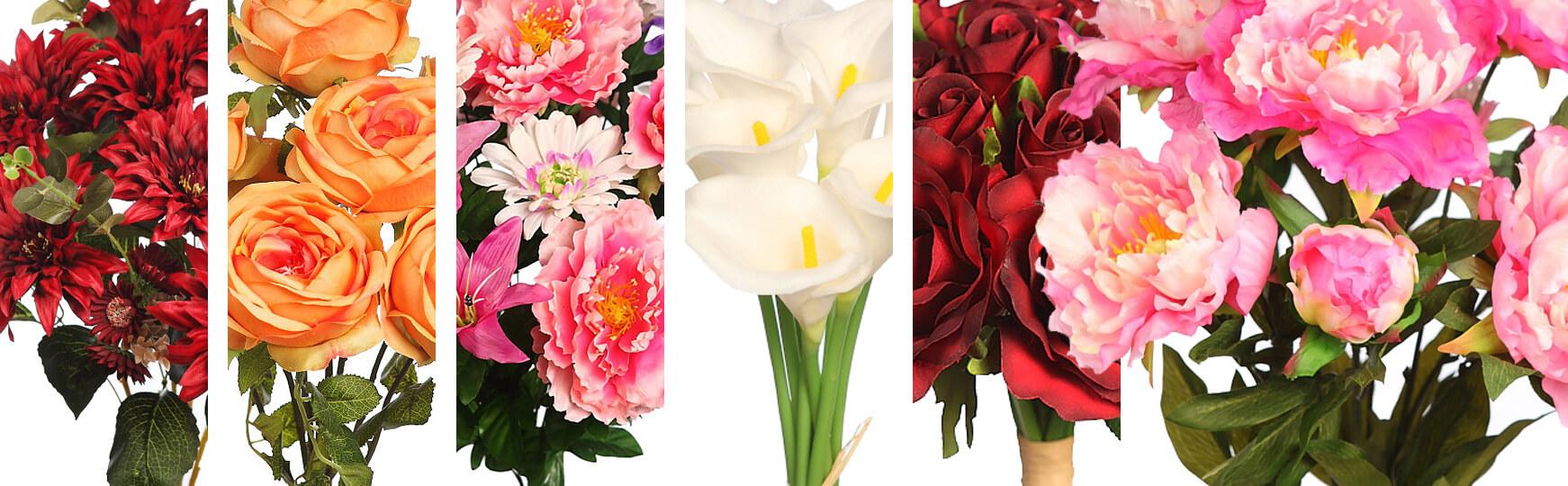 ramos de flores artificiales al mejor precio