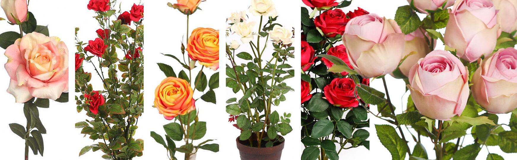 rosa artificiales al mejor precio
