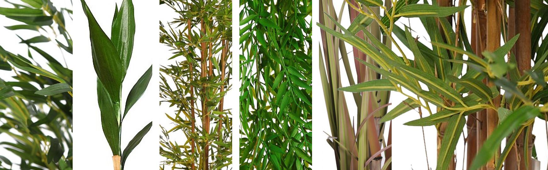 bambú artificial para decoración