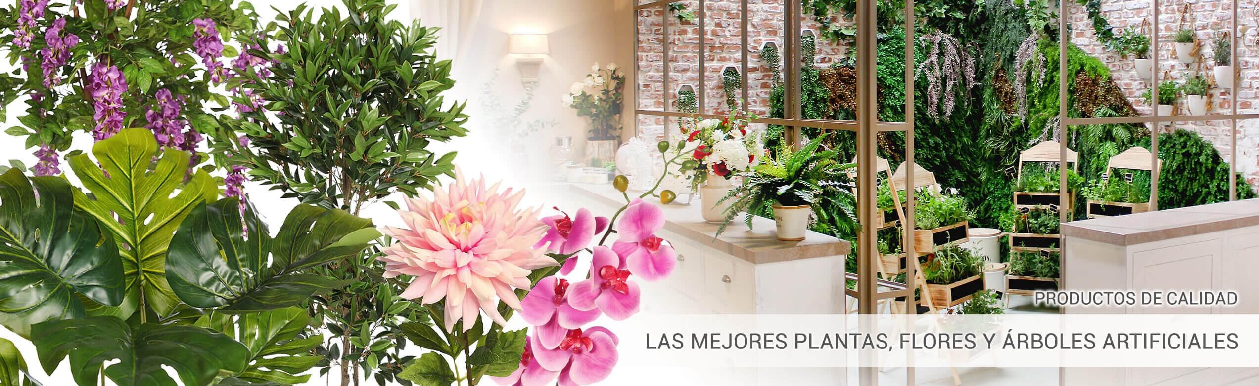 Las mejores plantas, flores y árboles artificiales